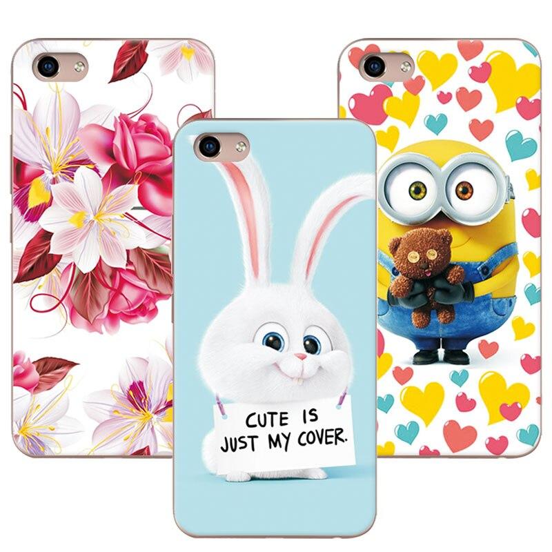 Cute Cartoon Soft TPU Coque Cases Vivo Y81 6.22