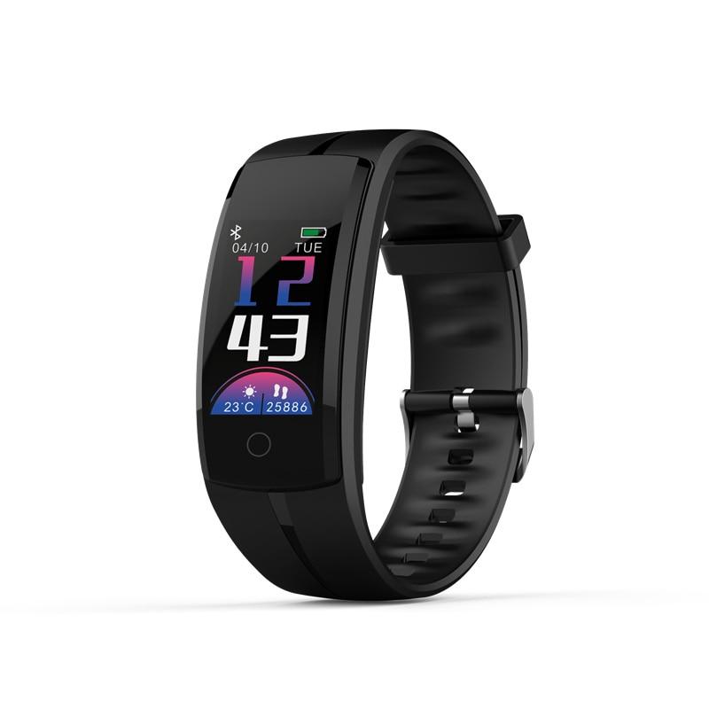 NEW QS100 sports smart watch bracelet Bluetooth heart rate monitor color screen bracelet IP67 waterproof fitness smart bracelet свеча зажигания двигателя для jac s5 2013