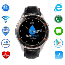 3G Smart Watch Phone Android 5.1 MTK6580 512 MB + 4 GB Bluetooth 4,0 Wifi GPS Smartwatch Herzfrequenz Armband für Android iOS Telefon