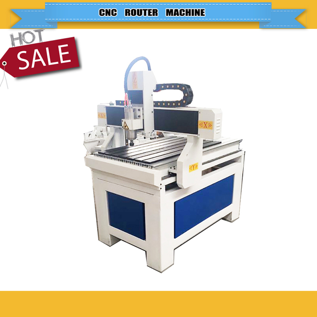 China supply 1.5/2.2/3.0kw water cooling spindle wood caving cnc router machine woodworking machine 6090 9060