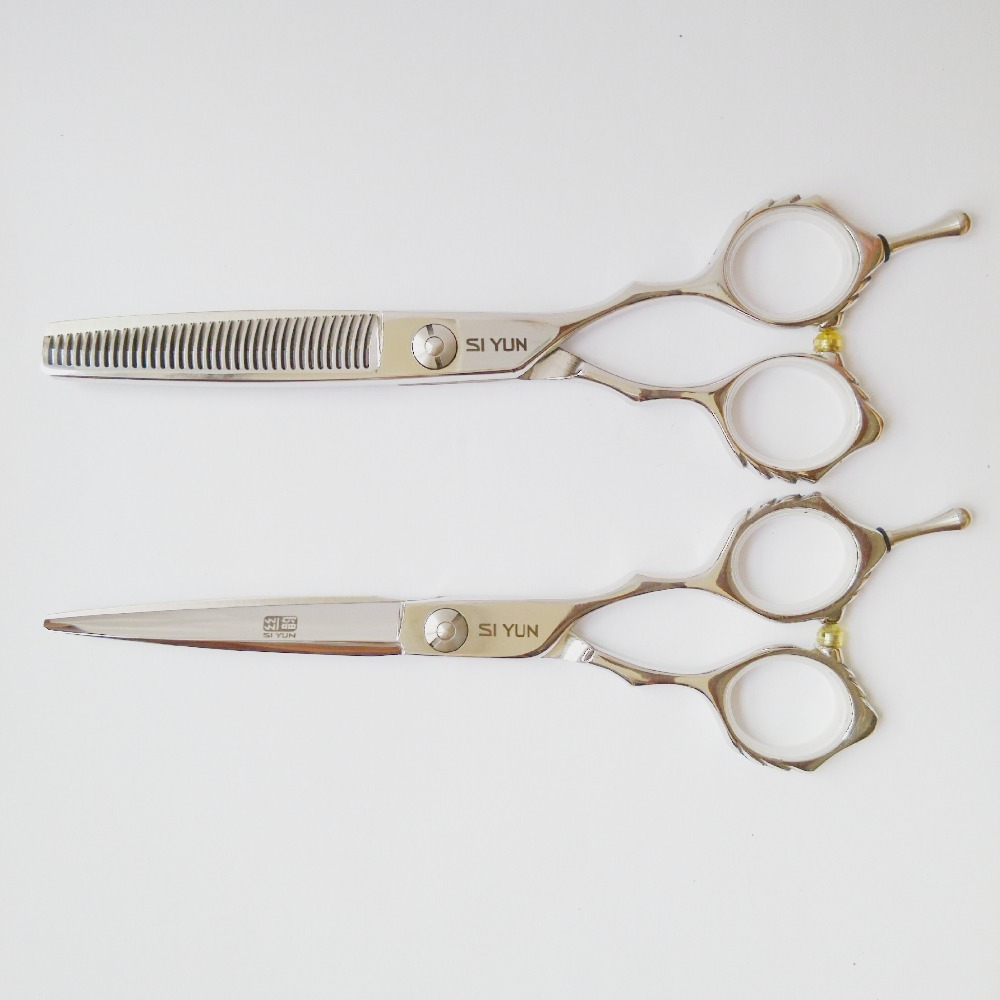 SiYun brand of 6.0 inch high quality sword blaldes japanese professional hair scissors set combiantion corporate governance and quality of earnings