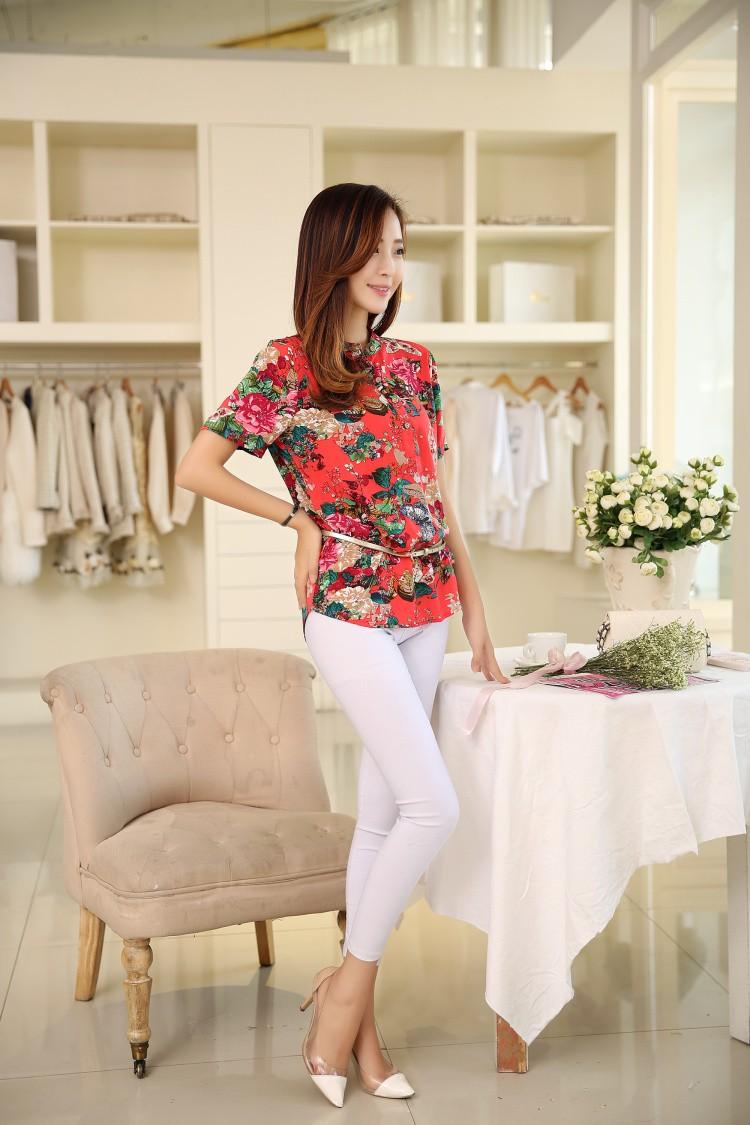 HTB1pg1gNXXXXXcpaXXXq6xXFXXXg - 2016 high quality Summer style Kimono blouses top Plus size XS-5XL