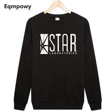882e190f2837c0 Eqmpowy Flash Barry Allen gwiazda laboratorium laboratoriów czarny kolor  mężczyzna bluza męska nowość bluzy z kapturem sweter 20.