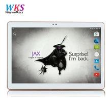 Waywalkers t805c 10 polegada tablet pc octa núcleo 4 gb ram 64 gb rom Cartões Dual SIM Android 5.1 GPS Tablets PCs Chamada Presentes telefone MT6592