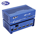 CKL HD-9442 4 port 3D HDMI 1.4v Splitter 1 in 4 out  1x4 HDMI Distributor HDTV 2Kx4K 4K*2KVedio