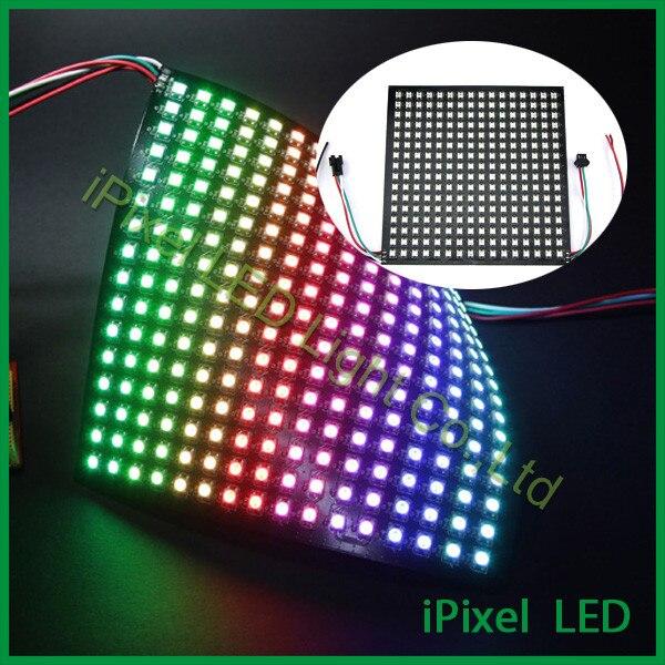 US $40 0 |DC5V 256 Pixels rgb led Matrix LED Digital Flexible Panel  Light-in LED Modules from Lights & Lighting on Aliexpress com | Alibaba  Group