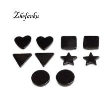 New Fashion Personality Earrings Wild Men Pentagram Earrings Magnet Geometry Jewelry Wholesale