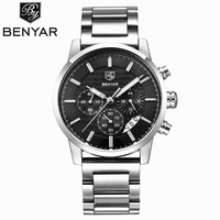 BENYAR Waterproof Mens Watches Top Brand Luxury 2017 Men's Watches Quartz watch Wrist Watches For Men