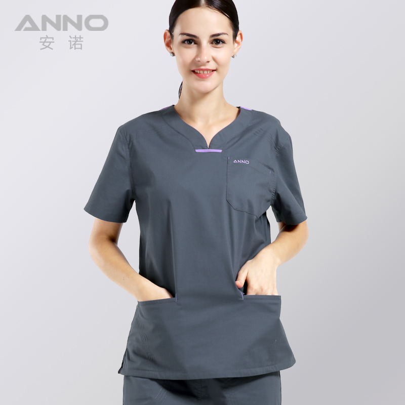 1ef67487913 summer women's clothing medical hospital scrubs nurse uniform dental clinic  and beauty salon fashion design slim fit-in Scrub Sets from Novelty &  Special ...
