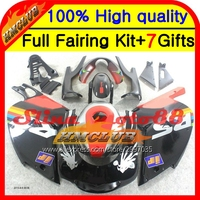 Body For Aprilia RS4 125 RS125 Red Black 99 05 RS 125 7HM17 RSV125 99 00