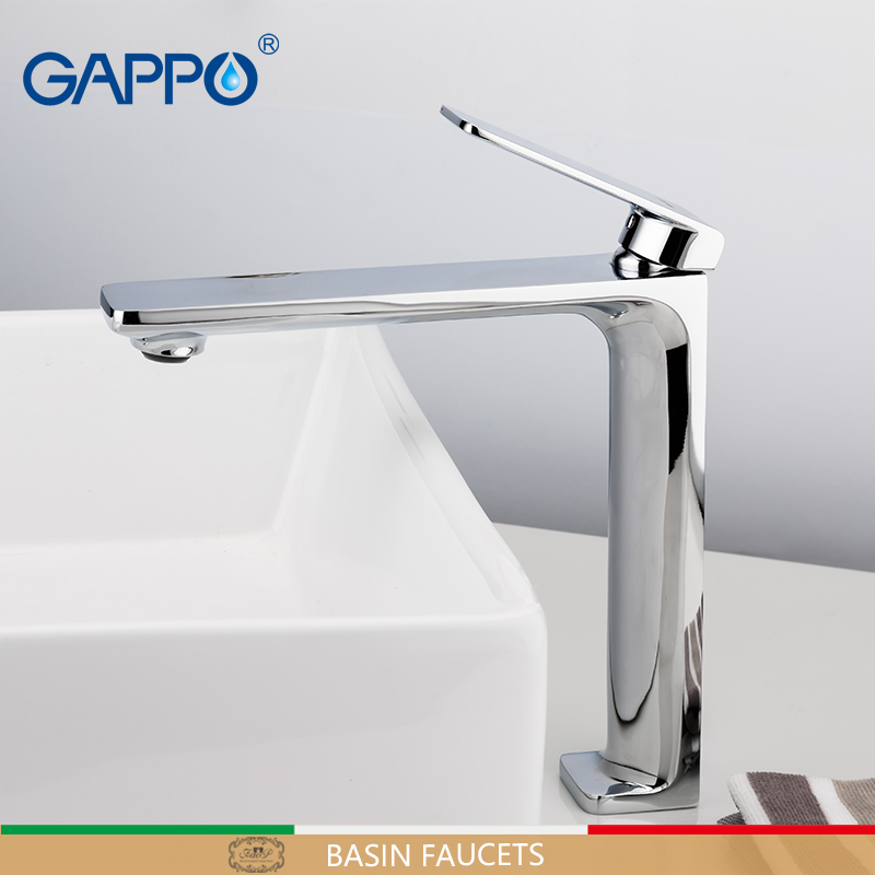 GAPPO basin faucet waterfall faucets bath tub mixer deck mounted tub faucet bathroom mixer brass water