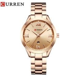 CURREN Rose Gold Watch Women Quartz Watches Ladies Top Brand Luxury Female Wrist Watch Girl Clock Relogio Feminino Saat 9007