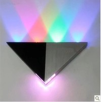 Modern LED aluminum wall lamp for creative KTV bar