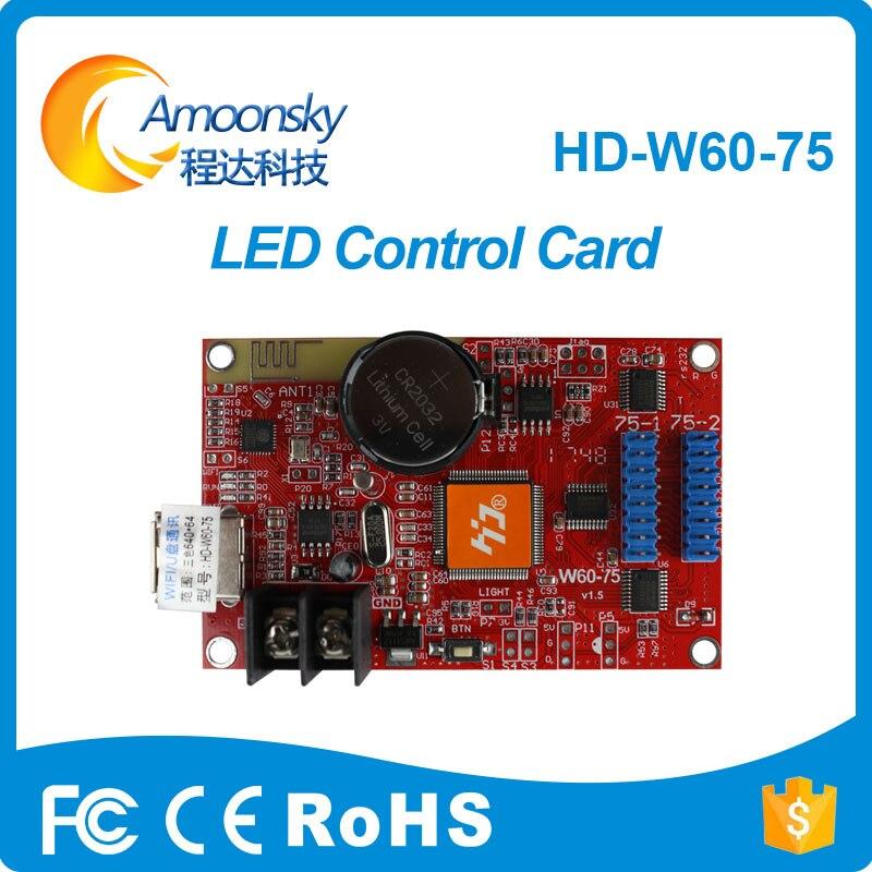 Scrolling Message Led P10 Led Module Control Card Hd-w60-75