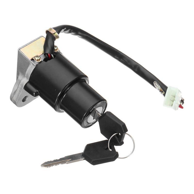 Motorrad Zündschloss Sperren Montage 3-Pin w/Schlüssel Fit Für YAMAHA DT125 hohe qualität