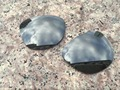 Реальный Материал ПК OEM Поляризованных Серые Линзы Для Frogskins Солнцезащитные Очки толщиной от 1.8 ММ-2.0 ММ