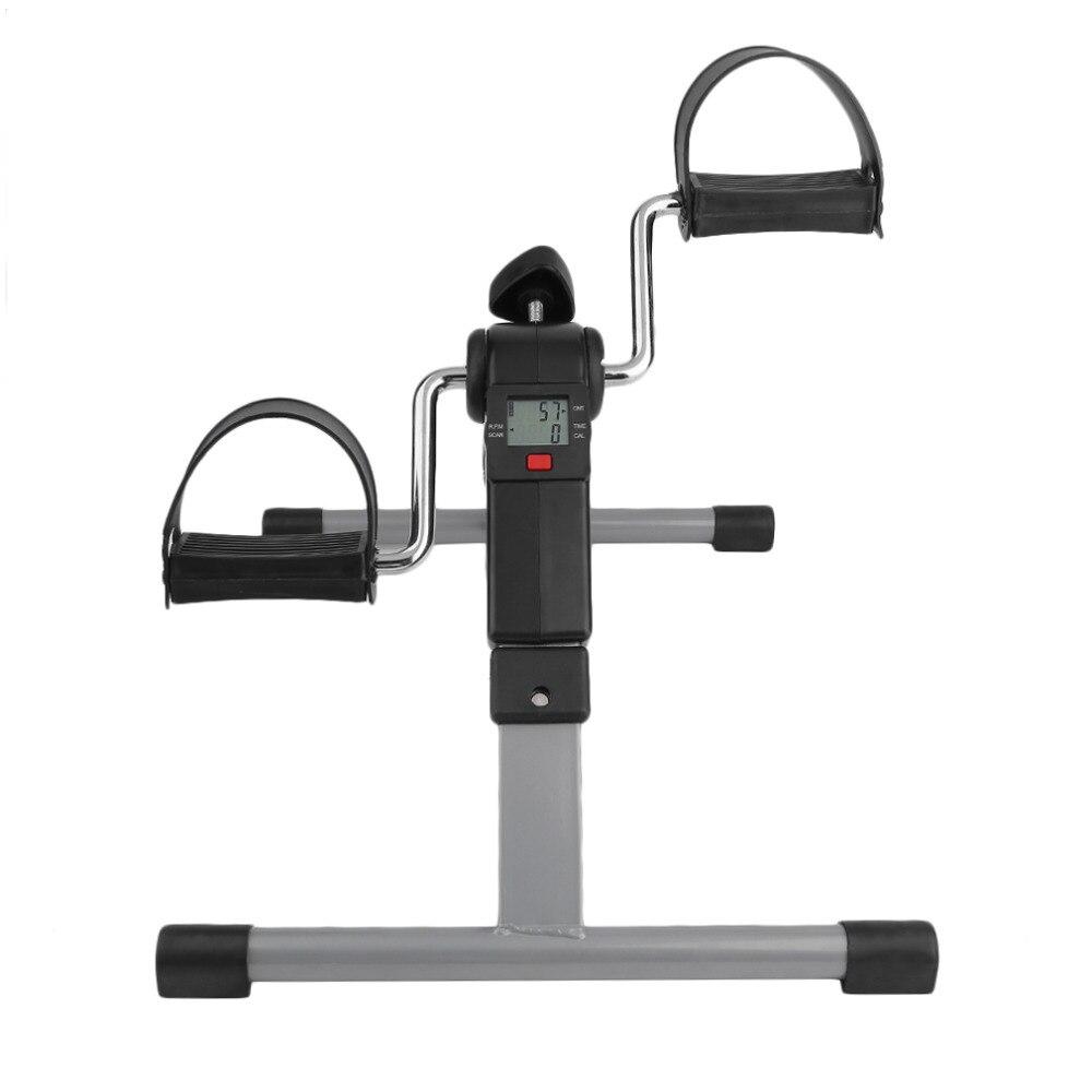 Machine portative d'exercice de jambe de bras d'exercice d'exercice de pédale mini Machine de jambe de Cycle de écran affichage LED de vélo de rotation