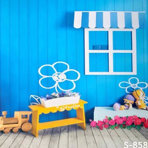 Cute Kids House For Studio Photo Photography Backgrounds ...