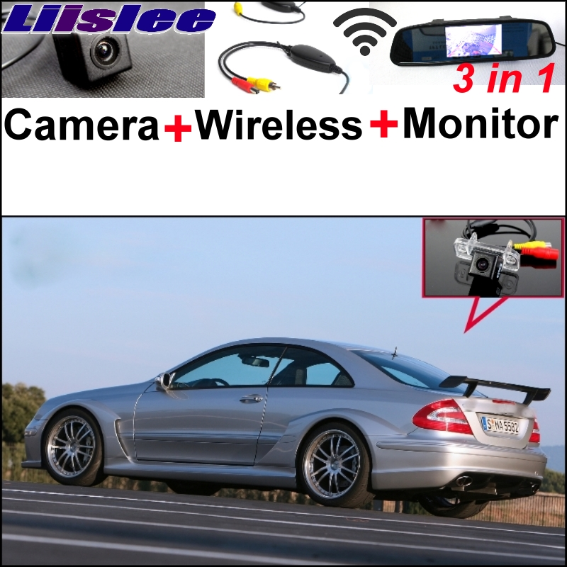 Liislee Special WiFi Camera + Wireless Receiver + Mirror Screen Parking System For Mercedes Benz CLK MB W209 C209 A209 2002~2009 liislee 3in1 special camera wireless receiver mirror screen diy rear view parking system for mercedes benz mb b class w245