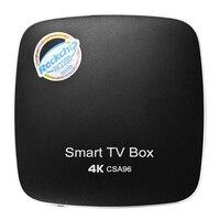New CSA96 4G/32G Android TV BOX ROCKCHIP RK3399 Hexa Core 64bit Bluetooth 4.0 2.4GHz/5.8GHz Dual WIFi Gigabit LAN Type C