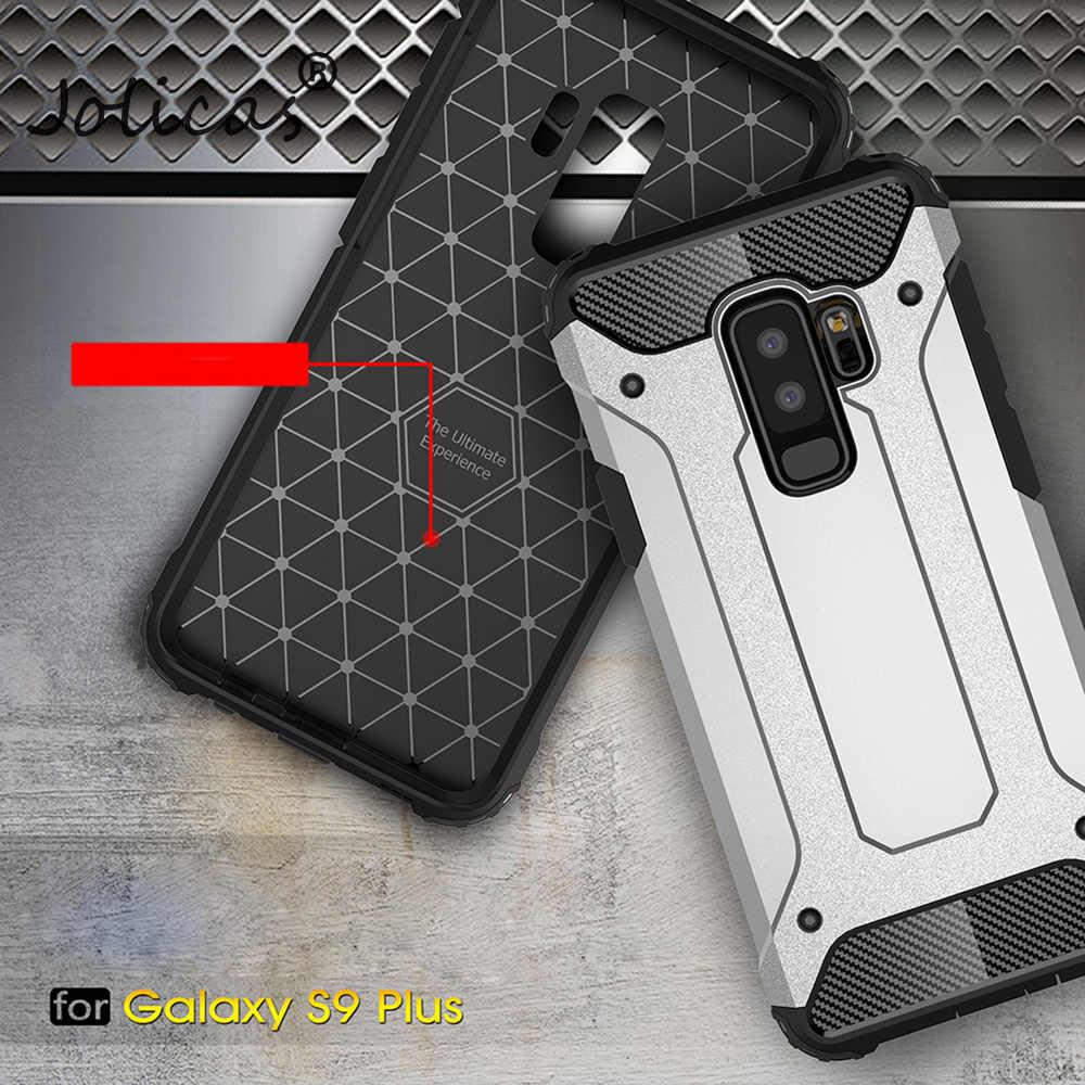 Custodie del telefono Per Samsung Galaxy A8 Più 2018 S9 Più S8 Più S7 Bordo S6 Nota 8 Caso Antiurto Fundas posteriore Armatura Della Copertura sumsung