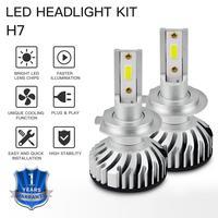 led white LED Car Headlight car bulb H4 H7 H8 H9 H11 HB2 HB3 HB4 9003 9005 9006 3000LM 6500K High Low Beam Bulbs led Super White (4)