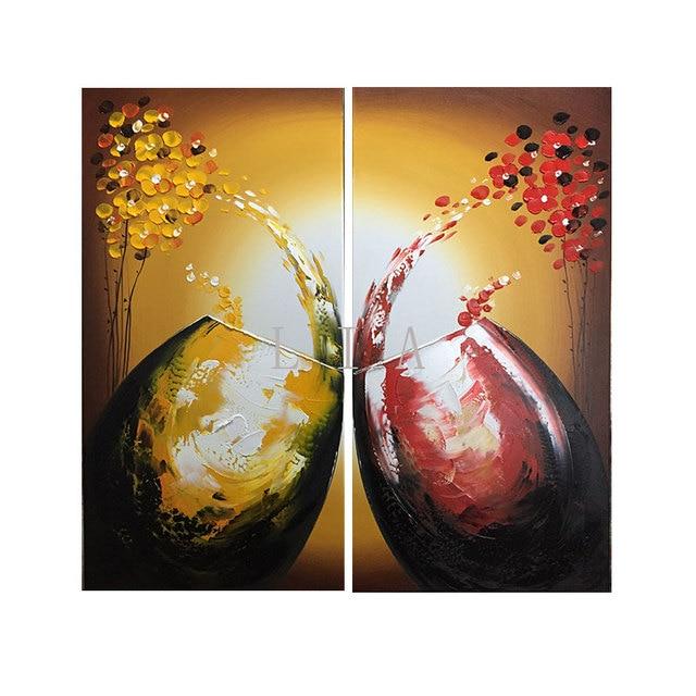 Panneau Toile Cuisine Moderne Toile Peinture Rouge Vin Bouteille