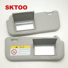 SKTOO авто аксессуары солнцезащитный козырек для Toyota Corolla- с косметическим зеркалом солнцезащитный козырек 74320-02B21 74310-02K91