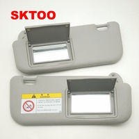 SKTOO Auto accessories sun visor for Toyota Corolla 2014 2017 with a make up mirror sun visor 74320 02B21 74310 02K91