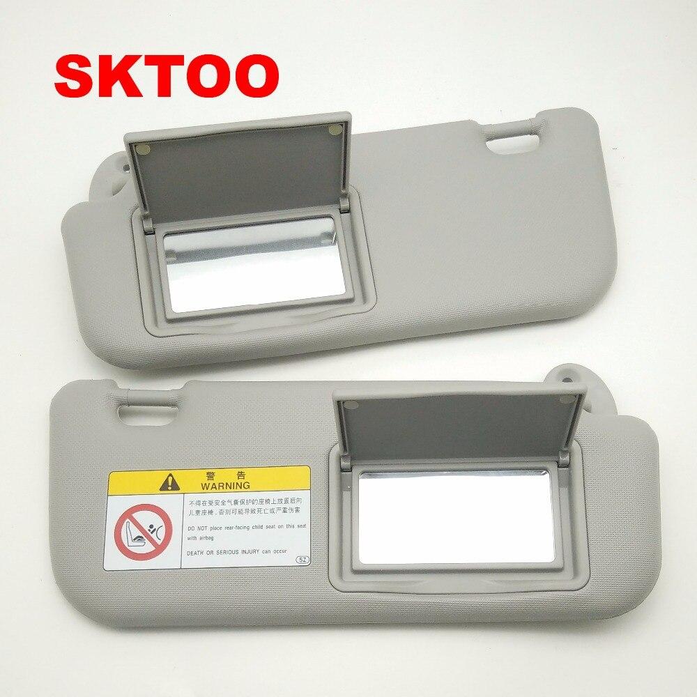 SKTOO Auto accessories sun visor for Toyota Corolla 2014-2017 with a  make-up mirror sun visor 74320-02B21 74310-02K91 e9c73ac0421