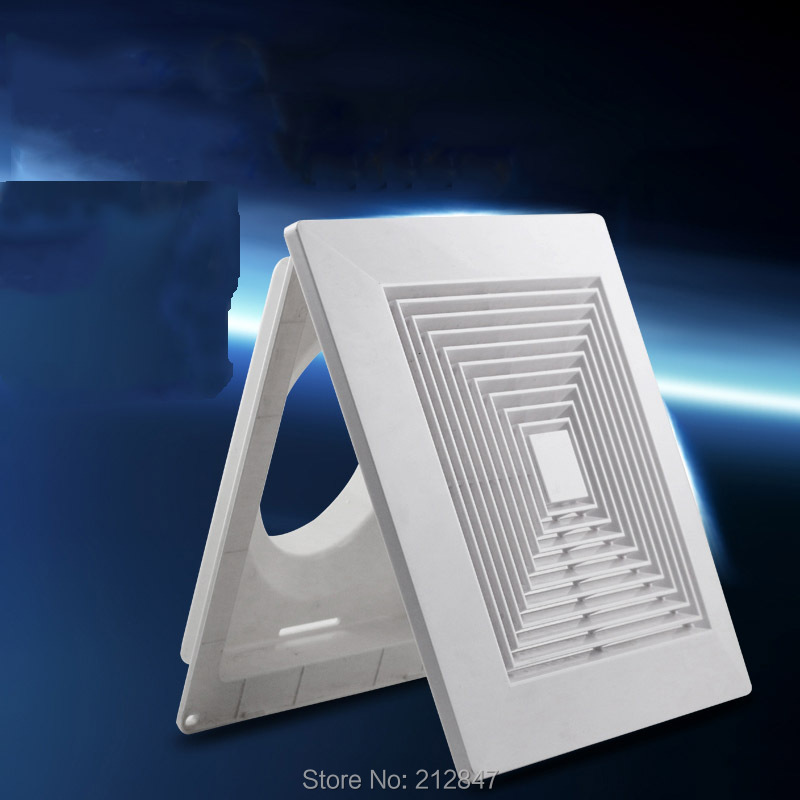 100mm ABS Square Diffuser Mounting Dia Adjustable Valves Air Conditioning Outlet Ventilation Grill Cover