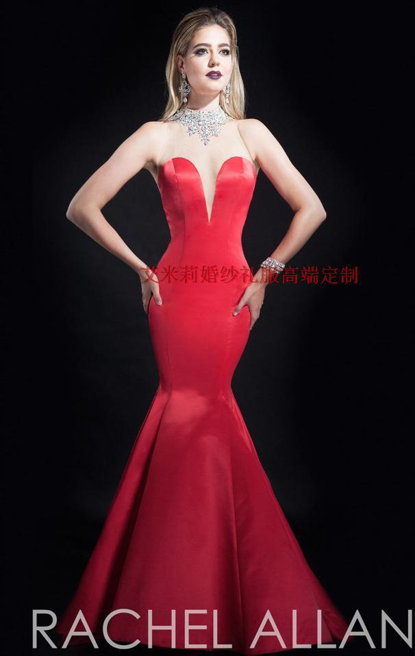 free shipping highneck crystal mermaid long   prom     dresses   2015 New fashion sexy backless vestido de festa party evening gowns