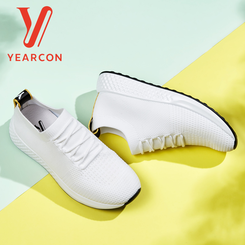 Yearcon women's vulcanize shoes for casual sport athletic fashion sneaker flats shoes 9261ZX49381W