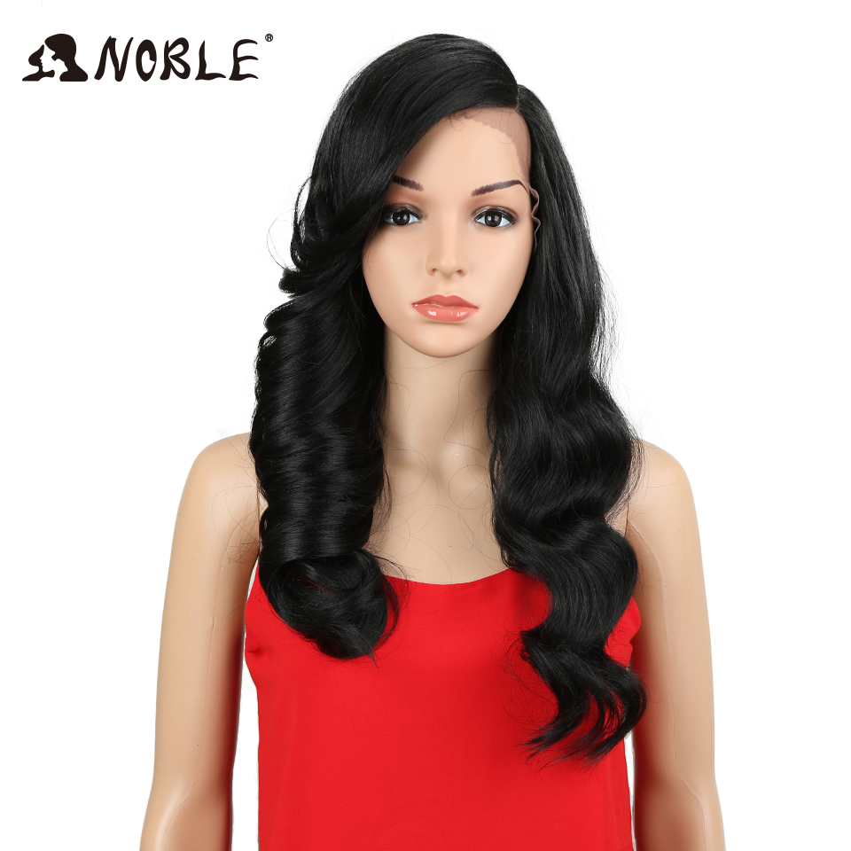 Noble Hair Long Loose Wavy 24Inch Ombre Glueless Heat Resistant Wig 130% Heat Resistant Synthetic Wigs For Black Women