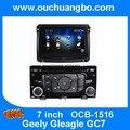 Multimídia rádio do carro DVD estéreo rádio para Geely Gleagle GC7 2016 suporte de áudio Espanhol Árabe livre 2015 oriente médio Chile mapa