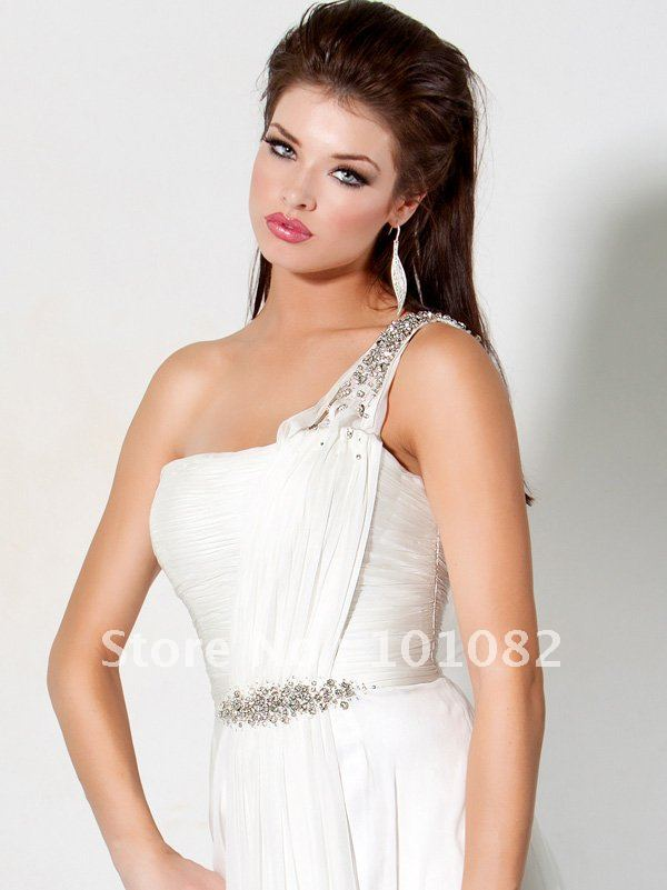 White Greek Style Prom Dresses - Gowns and Dress Ideas