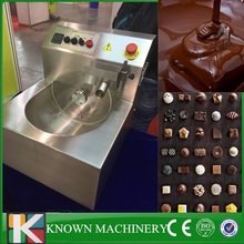 Electric Capacity 8kg chocolate melting tempering machine with frequency conversion motor