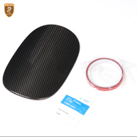 Carbon Fiber Fuel Tank Cover For Porsche Macan 2014 2015 2016 2017 2018 Car Styling Accessories Exterior Parts Car Styling