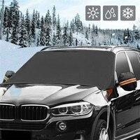 Kongyide автомобильный солнцезащитный козырек авто лобовое стекло Снежный чехол Магнитный Водонепроницаемый Автомобильный Мороз солнцезащит...