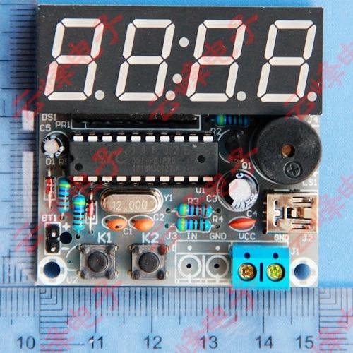 Digital Countdown Timer At89c2051