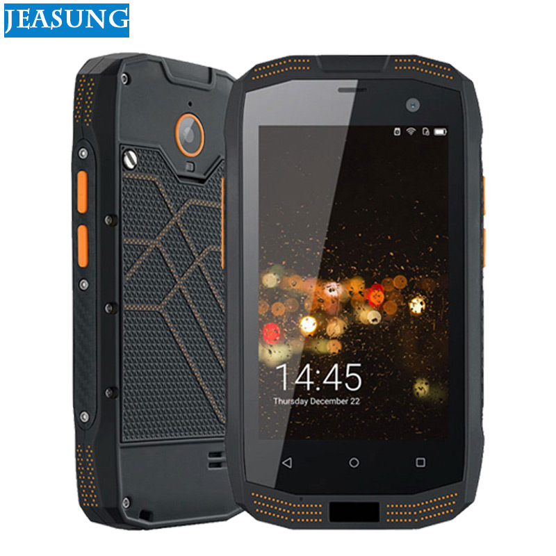 Jeasung A2 IP68 téléphone robuste étanche 2 GB RAM 16 GB ROM NFC OTG Android 5.1 Quad Core 8.0MP 1280*720 2600 mAh 4G cellule de FDD-LTE