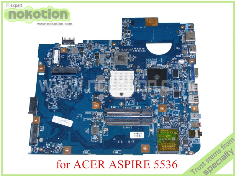 NOKOTION JV50-PU MB 48.4CH01.021 For acer aspire 5536 laptop motherboard DDR2 MB.P4201.004 MBP4201004 mbp5601009 mb p5601 009 for acer aspire 5738 laptop motherboard jv50 mv m92 mb 48 4cg07 011 gm45 ddr2 free cpu
