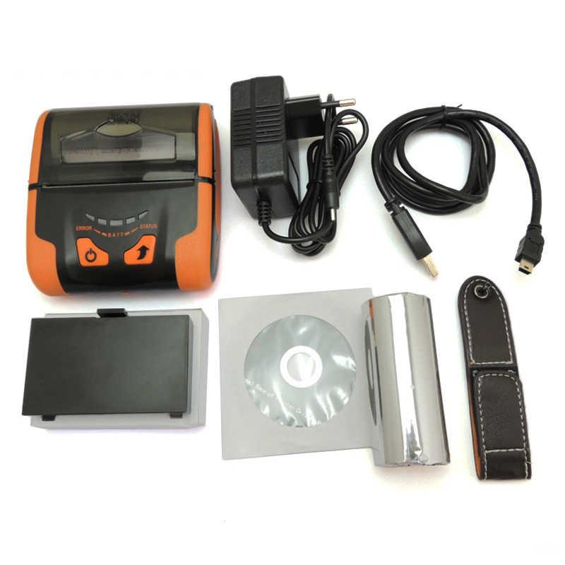 ISSYZONEPOS IMP013 Mini-USB Mobile Portable Thermal Receipt Cashier  Loyverse Printer Apple/Android/Windows Bluetooth/USB/WIFI