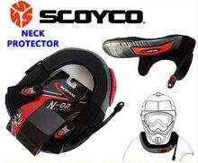 Marca Ignífugo De Scoyco N02 Motocicleta A Prueba de Viento Ciclismo Protector de Cuello Protector Engranajes MX Off Road Motocross Neck Brace