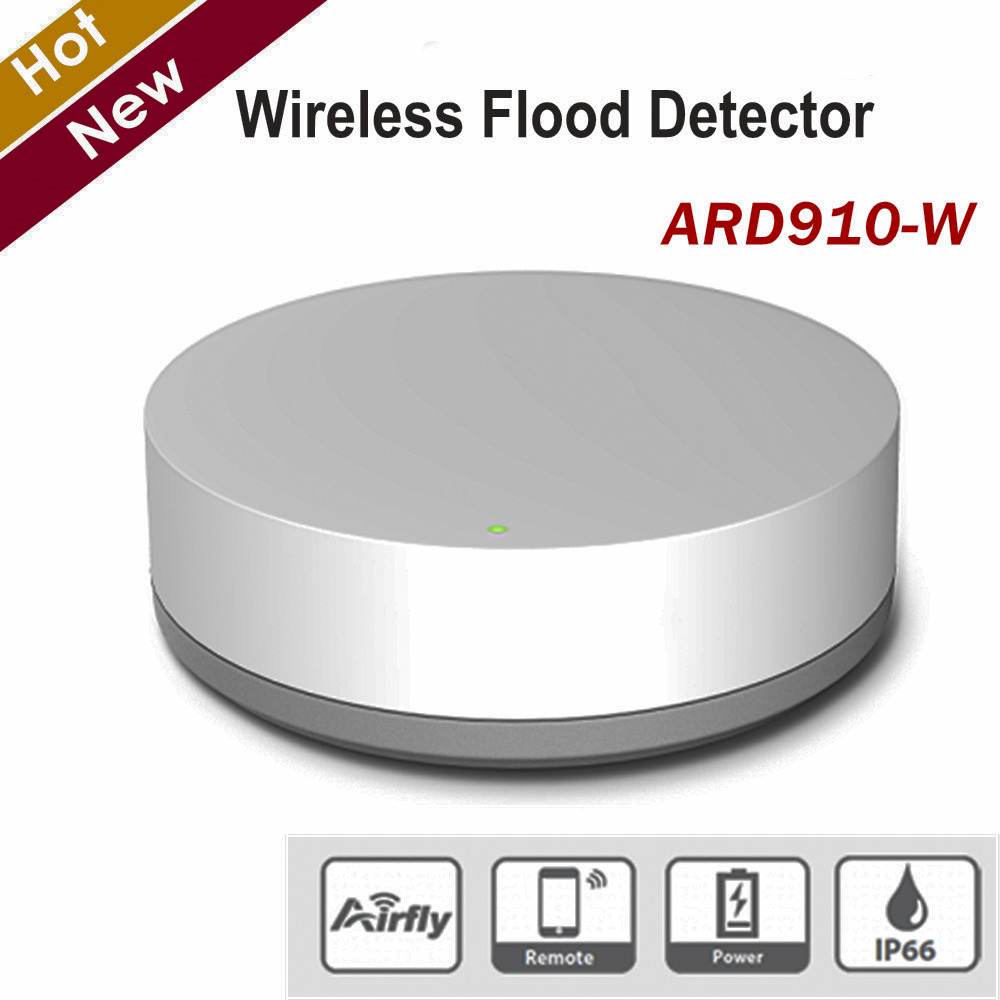 Dahua Wireless Flood Detector ARD910-W IP66 Waterproof Quick Detect Occurrence Flood Or Water Leakage 150 Meters Transmission