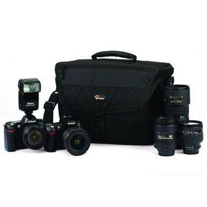 Image 2 - Sıcak satış hakiki Lowepro Nova 200 AW basit omuz çantası kamera çantası kamera çantası almak için kapak
