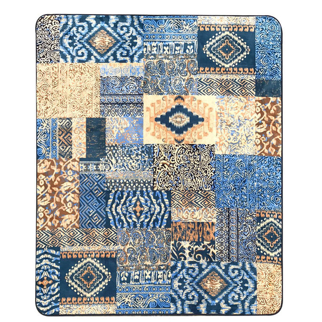 Aliexpress.com : Buy WINLIFE Mediterranean Style Home Carpets Large ...