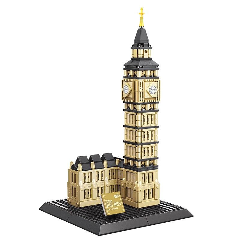 KAZI The Big Ben Of London Building Blocks Mini Arcs