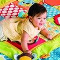 Tapetes de jogo do bebê da alta qualidade crianças educação formação cramling almofadas esteiras infantino jumbo patchwork espaço de jogo p3