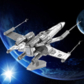 Star Wars Diy 3d Metal Puzzle Model Toys For Children/adult Cartoon Robot Aircraft Puzzle R2-D2 RT-RT Model